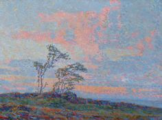 Middle Years (1910-1929) - Birger Sandzén Memorial Gallery 1911 Sunset oil on canvas 18 x 24 Gift of Henmon