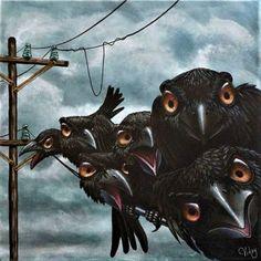 68 Ideas for dark art woman ravens Crow Art, Raven Art, Bird Art, Fantasy Character, Crows Ravens, Mundo Animal, Bird Illustration, Beautiful Birds, Oeuvre D'art