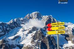 Mont Blanc view in Courmayeur ski resort ph. Lorenzo Belfrond Photographia
