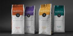Barista Coffee — The Dieline - Branding & Packaging Design