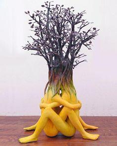 Sculpture by Ishibashi Yui
