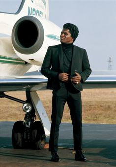 Mr. James Brown on Long Island in 1967. Photography by Jean-Marie Perier.