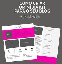 Como criar um mídia kit para o seu blog (+ modelo grátis) | Blogs de Moda