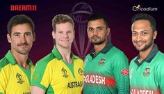 Australia and Bangladesh will lock horns in the 26th match of the ICC Cricket World Cup 2019 on June 20 at the Trent Bridge, Nottingham. Keep reading to find out Dream 11 fantasy cricket tips and AUS vs BAN Dream 11 team Match 26. While Australia looks good to end up in the top 4 […] Cricket Tips, Icc Cricket, Mitchell Starc, Glenn Maxwell, David Warner, Cricket World Cup, Old Trafford, Big Challenge, Best Player
