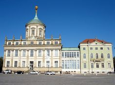 Market Square with the Old Town Hall of Potsdam, Brandenburg, Germany