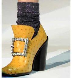 Marc Jacobs Zapatos de la epoca de los tres mosqueteros...