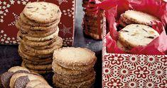 1 dej = 3 slags småkager: Mandelkager, Chokoladeappelsinkager, Spiralkager