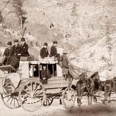 The Deadwood stagecoach - South Dakota 1889