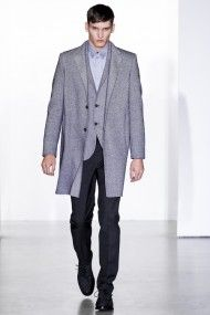 Shades of grey - Calvin Klein Collection grey outfit from AW 13/14 show