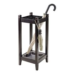 Shop Winsome Wood 92411 Jana Umbrella Stand with Metal Drip Tray at Lowe's…