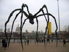 Spider-Tate-Modern-London-UK
