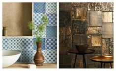 The Winchester Tile Company Chateaux and Foundry Metallics ranges