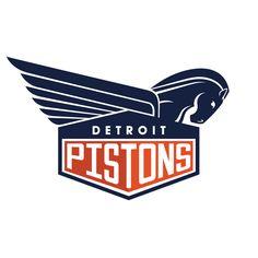 NBA Logo Redesigns: Detroit Pistons