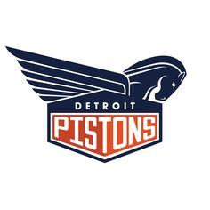 NBA Logo Redesigns: Detroit Pistons
