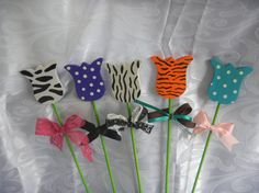 Plant Sticker Tulips by TheRusticBumblebee on Etsy