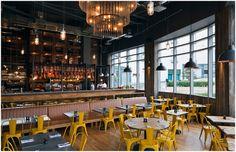 jamie oliver restaurant design | Jamies Italian in Birmingham by Blacksheep design