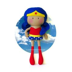 My Teeny-Tiny Doll® - Wondergirl by Cook You Some Noodles®