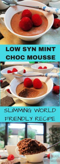 Low Syn Mint Chocolate Mousse - Slimming World - Dessert - Slimming World Pudding - Pudding - astuce recette minceur girl world world recipes world snacks Slimming World Deserts, Slimming World Puddings, Slimming World Tips, Slimming World Recipes Syn Free, Slimming Eats, Slimming World Kids Meals, Slimming World Taster Ideas, Slimming World Breakfast, Healthy Desserts