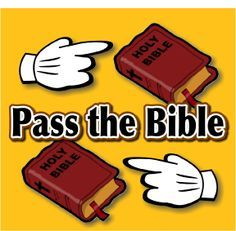 Pass the Bible: A Super Bible School Activity for Elementary Kids - The Scripture Lady. Creative Resources to Help You Share the Bible with Children. #SundaySchool