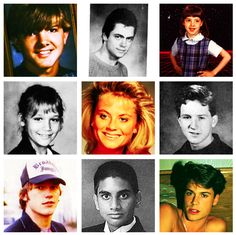 Parks & Recreation cast old pics!