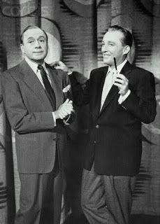 Jack Benny and Bing Crosby