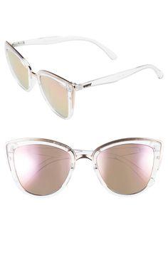 Main Image - Quay Australia 'My Girl' 50mm Cat Eye Sunglasses