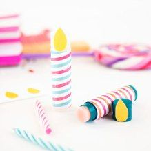 Printable Chapstick Birthday Party Favors