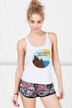 Parks Project Santa Monica Mountainns Racerback Tank Top - Urban Outfitters