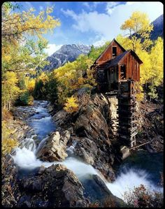 Old Mill, Crystal, Colorado