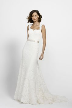 Trumpet Open Back Court Train Lace Wedding Dress