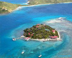 Marina Cay in the British Virgin Islands