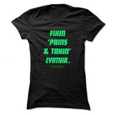 Fixin ... CYNTHIA - Cool Name Shirt ! - #tshirt illustration #sweatshirt style. OBTAIN LOWEST PRICE => https://www.sunfrog.com/LifeStyle/Fixin-CYNTHIA--Cool-Name-Shirt-.html?68278