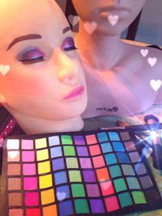 Makeup Mannequin- Practice Makeup Application www.faceartistpro.com