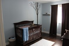 Project Nursery - Blue and Brown Nursery
