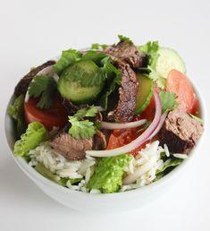 Healthy Thai Beef Salad   POPSUGAR Fitness