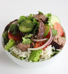 Full of protein and vegetables, you'll think twice about ordering takeout once you try this Thai beef salad.