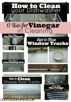 Over the last month, I've explored lots of great Cleaning Tips and Tricks.  One thing I've discovered is what a great all-purpose cleaner that vinegar is, including these following 17 uses for vinegar in your cleaning routine. DIY Natural Drain Cleaner DIY Showerhead Cleaner How to Clean Your Shower Door Tracks DIY Bathroom Soap Scum …