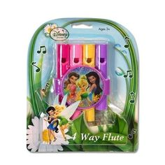 Disney Fairies 4-Way Musical Flute - Disney Fairies 4 Way Musical Flute by Disney. $42.99. Disney Fairies 4 Way Musical FluteDisney Fairies 4-Way Musical Flute. Features Tinkerbell and 2 other fairies on the flute. Can be given as a gift or makes a perfect stocking stuffer. For Ages 3 and up.Disclosure: Suggested age is 3 years and up Product may contain Small parts Not suitable for children under 3 yrs.. Save 20%!