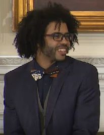 Daveed Daniele Diggs, a Berkeley High grad who went on to pursue a theater degree at Brown University, rap has always been in the forefront. He recalls disembarking from the bus to Hebrew school—Diggs is the son of a Jewish mother and an African American father.Diggs originated the role of Marquis de Lafayette/Thomas Jefferson in the 2015 musical Hamilton, for which he won a Grammy Award and a Tony Award in 2016.