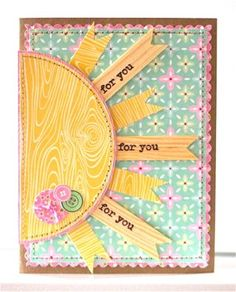 Cute Inspiration from the Card Kitchen March Kit - Card by Julie Bonner