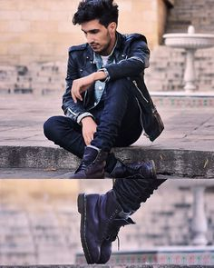 male photoshoot inspiration. ah love his look!