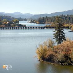 Ferry County rail trail crosses the northern tip of Curlew Lake, WA. It's late September and foliage is beginning to turn color. Rainbow Trout, Crosses, Acre, Trail, September, Camping, Spaces, Spring, Summer