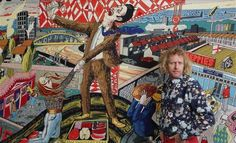 Journeys: Grayson Perry. Tapestry inspired by Sunderland
