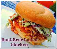 root beer pulled chicken