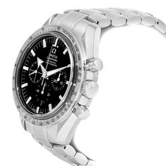 Shop for Premier watches at SwissWatchExpo. ID theft protection. Omega Speedmaster Broad Arrow, Omega Speedmaster Watch, Omega Seamaster, Stainless Steel Watch, Stainless Steel Bracelet, Kanye West And Kim, Versace Men, Luxury Watches For Men, Chronograph