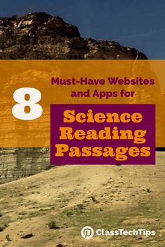 Check out these science reading passages for students! Check out these websites for science reading. You'll find great science websites and science apps on this list.