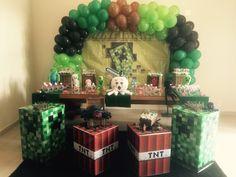 Minecraft nossa decoração de hoje
