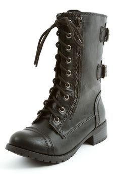 Dome Combat Boots, I want a pair!