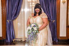 A Harlem Renaissance Wedding in Baltimore, MD: Brandi + Brandon