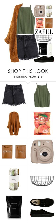 """#498 Autumn"" by mia5056 ❤ liked on Polyvore featuring Bloomingville, Fujifilm, Potting Shed Creations, Menu, Cleanse by Lauren Napier, Vans and Dr. Vranjes"